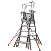 Little Giant® Aerial Safety Cage 5'-9' W/ Click Casters - 18509-240