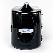 Wipe-A-Way Facility Wipes Dispenser - 800 Wipe Capacity Black
