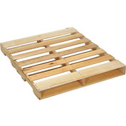 "New Hard Wood Pallet 48"" x 40"" x 4-1/2"""