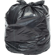 Global Industrial™ Heavy Duty Black Trash Bags - 40 to 45 Gallon, 1.0 Mil, 100/Case