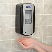 Purell Hand Sanitizer Dispenser - LTX Chrome/Black 1200mL - 1928-04