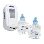Purell LTX Hand Sanitizer Starter 1200 mL Dispenser Kit with Refills