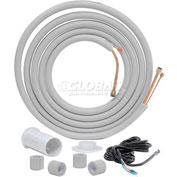 "25' Installation Kit For Split System, 1/4"" Liquid Dia, 3/8"" Suction Dia"