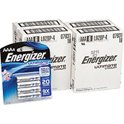 Energizer Ultimate Lithium AAA Batteries Bulk Pack  - Pkg Qty 24