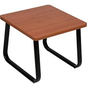 "Interion™ Square Coffee Table 20"" x 20"" Cherry Top"