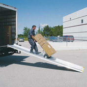 "Magliner® Retractable Underbody Truck Slider® Ramp Only 24""W x 12'L SR24121"