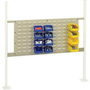 "Mounting Kit with 36""W Louver for 48""W Workbench -Tan"