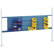 """Mounting Kit with 18""""W and 36""""W Louvers for 72""""W Workbench - Blue"""