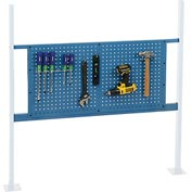 "Mounting Kit with 36""W Pegboard for 48""W Workbench - Blue"