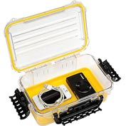 "Plano Guide Series Airtight & Waterproof Storage Case, 11""L x 7-1/4""W x 4""H, Yellow"
