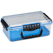 "Plano Guide Series Airtight & Waterproof Storage Case, 14""L x 9""W x 5""H, Blue"