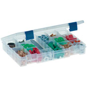 "Plano ProLatch™ StowAway® 6-21 Adjustable Compartment Box,11""L x 7-1/4""W x 1-3/4""H, Clear - Pkg Qty 2"