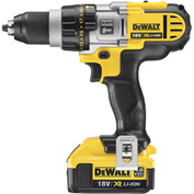"DeWALT® DCD985M2 20V Lithium-Ion Premium 3-Speed 1/2"" Hammer Drill Kit"