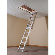 "Werner Aluminum Energy Seal Attic Ladder 22-1/2""W x 8-10' - AE2210"