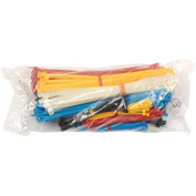 Global™ Assorted Cable Tie,  Pack of 375