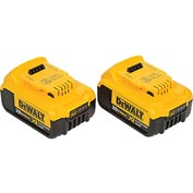 DeWALT® DCB204-2 20V MAX* XR Lith-Ion Battery, 2 Pack