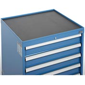 Top Tray w/Vinyl Mat for Global™ Modular Drawer Cabinet