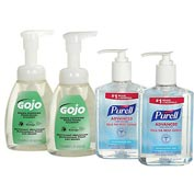 Purell/GOJO Hand Sanitizer & Foam Hand Soap Kit - 9652-SS-EC