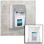 Global™ Hand Sanitizer Starter Kit W/ FREE Dispenser - White/Gray