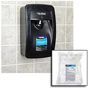 Global™ Hand Sanitizer Starter Kit W/ Automatic Dispenser - Black