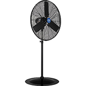 Outdoor Oscillating Pedestal Fan, 30 Inch Diameter, 3/10HP 8400CFM