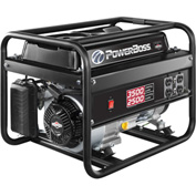 Briggs & Stratton, PowerBoss® Generator 030666, Manual Start, 2500W