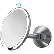 simplehuman® Sensor Lighted Vanity Mirror Wall Mount ST3003