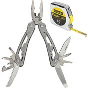 Stanley 33-115 12-IN-1 Multi-Tool W/ PowerLock® Pocket Tape Measure