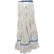 Global™ Medium Blend Looped Mop Head, Narrow Band