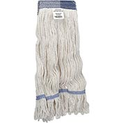 Global™ Large Blend Looped Mop Head, Wide Band