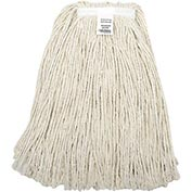 Global™ 24 oz. Cotton Cut-End Mop Head, 4Ply, Narrow Band