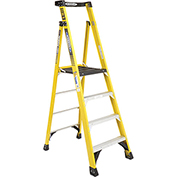 Werner 4' Type 1AA Fiberglass Podium Ladder - PD7304