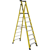Werner 8' Type 1AA Fiberglass Podium Ladder - PD7308