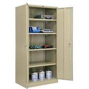 Global™ Storage Cabinet Assembled 36x24x78 Tan