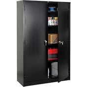 Global™ Storage Cabinet Assembled 48x18x78 Black
