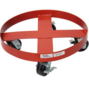 Modern Equipment MECO HDD-55PHL 55 Gallon Heavy Duty Drum Dolly Phenolic Casters