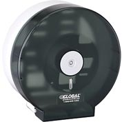 "Global™ Plastic Jumbo Bathroom Tissue Dispenser - One 9"" Roll"