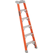 Louisville 6' Type 1A Fiberglass Pro Shelf Step Ladder - FH1506