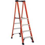 Louisville 5' Type 1AA Fiberglass Pro Platform Step Ladder - FXP1805HD