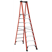 Louisville 8' Type 1AA Fiberglass Pro Platform Step Ladder - FXP1808HD