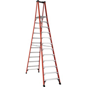 Louisville 10' Type 1AA Fiberglass Pro Platform Step Ladder - FXP1810HD