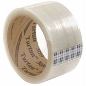 "3M™ Tartan™ 369 Carton Sealing Tape 2"" x 55 Yds. 1.6 Mil Clear - Pkg Qty 6"