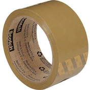 "3M™ Scotch® 371  Carton Sealing Tape 2"" x 55 Yds. 1.9 Mil Tan - Pkg Qty 6"