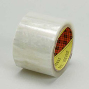 "3M Carton Sealing Tape 371 3"" x 55 Yds 1.9 Mil Clear - Pkg Qty 6"