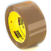 "3M Carton Sealing Tape 373 2"" x 55 Yds 2.5 Mil Tan - Pkg Qty 6"