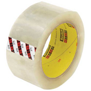 "3M™ Scotch® 375 Carton Sealing Tape 2"" x 55 Yds. 3.1 Mil Clear - Pkg Qty 6"