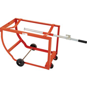 Modern Equipment MECO DS1-H Rock-It Drum Cradle with Handle No Casters 1000 Lb.