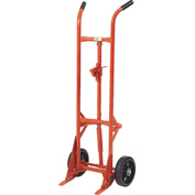 Modern Equipment MECO 29VR Comet Self-Standing Drum Truck Rubber Casters 1000 Lb.