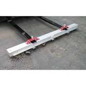 "AMK Magnetics RDS-60LR Double Strength Load Release RoadMag Sweeper - 60""W"