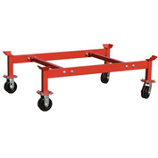 Modern Equipment MECO PS-2DR Cart for PDR2 & PDR2-KD 2 Drum Racks 1800 Lb.